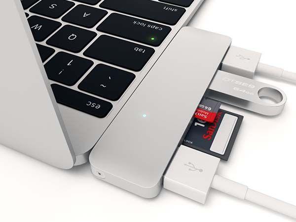 Satechi Type-C USB Hub for MacBook