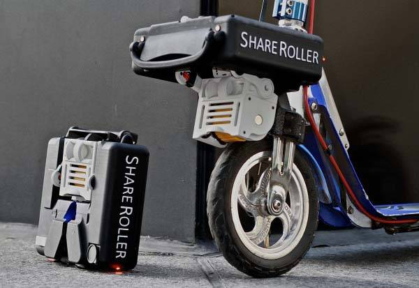 ShareRoller V3 Motor Turns Your Bike and Scooter into Electric Bike and Scooter