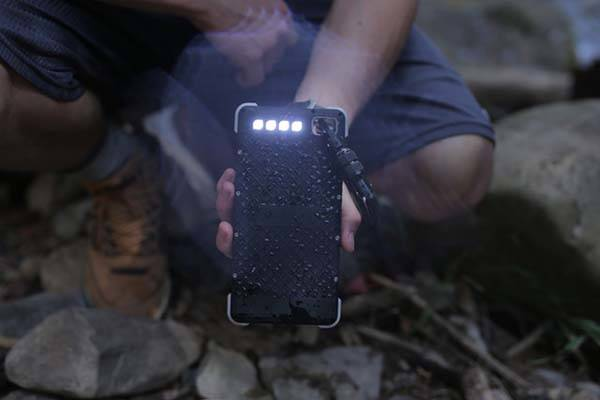 SOS 20K Rugged Solar Power Bank with 3-In-1 LED Light