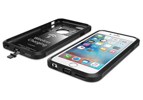 Spigen Tough Armor Volt iPhone 6s Case with Built-in Wireless Charging Receiver