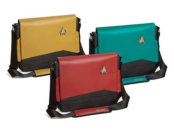 Star Trek TNG Uniform Messenger Bag