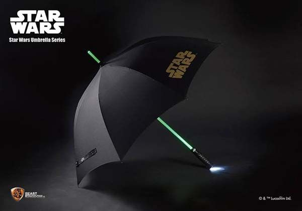 Star Wars Light Up Lightsaber Umbrella