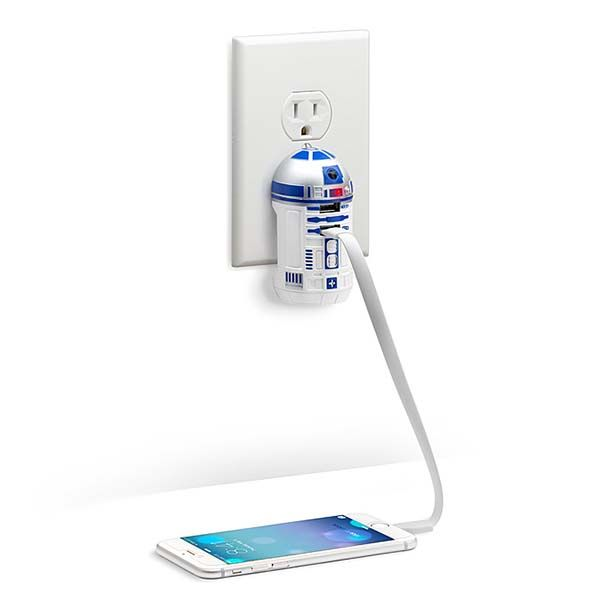Star Wars R2-D2 USB Wall Charger