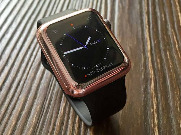 The Apple Watch Case Turn Your Smartwatch Rose Gold