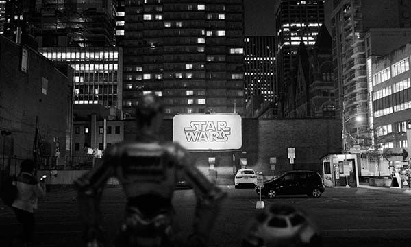 The Black & White Photos Show Star Wars in Real World