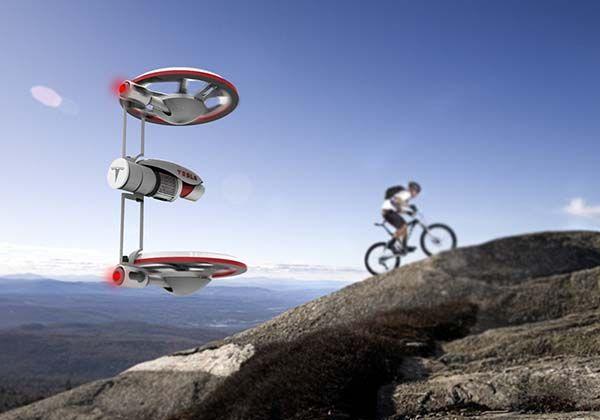 The Concept Tesla Drone