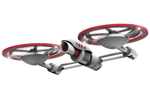 The Concept Tesla Drone