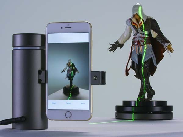 Eora 3D Smartphone Powered High-Precision 3D Scanner