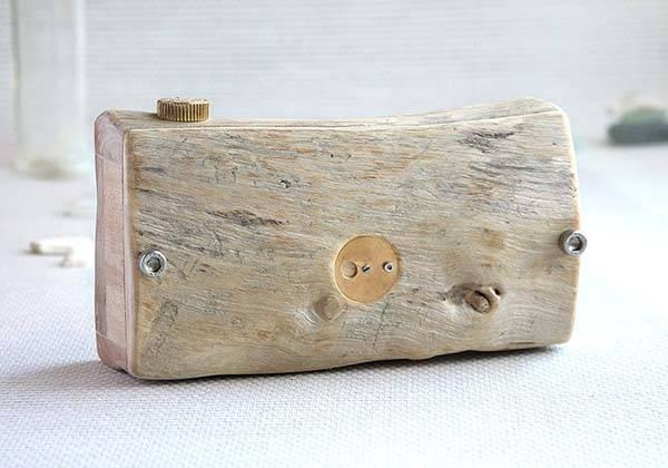 Handmade Wooden Pinhole Camera