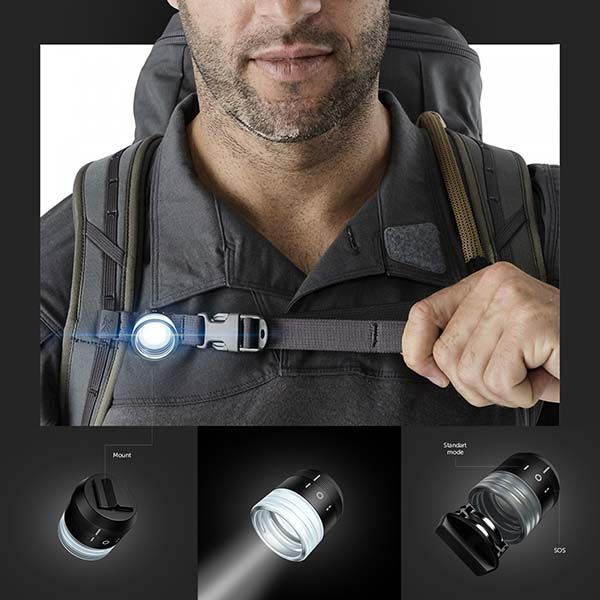 The Concept Hive LED Flashlight