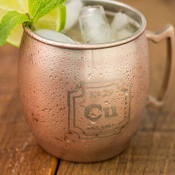 The Periodic Mug Made From Copper Gadgetsin