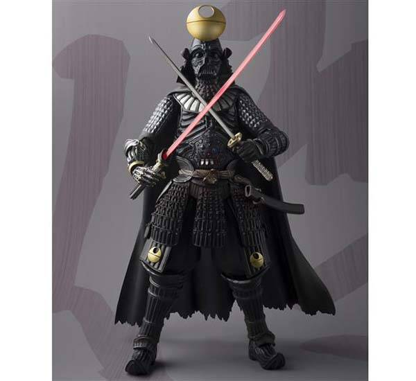 The Shogun Darth Vader Action Figure in Death Star Armor