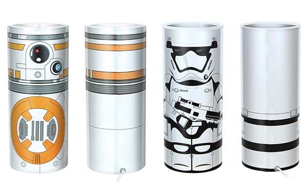 Star Wars Desktop Accent Lamps