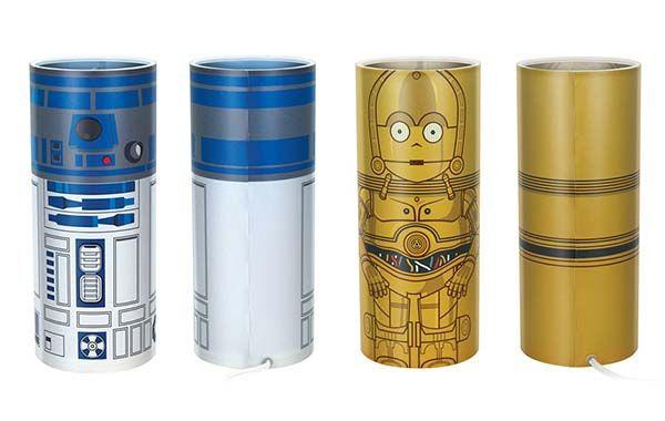 Star Wars Desktop Accent Lamps