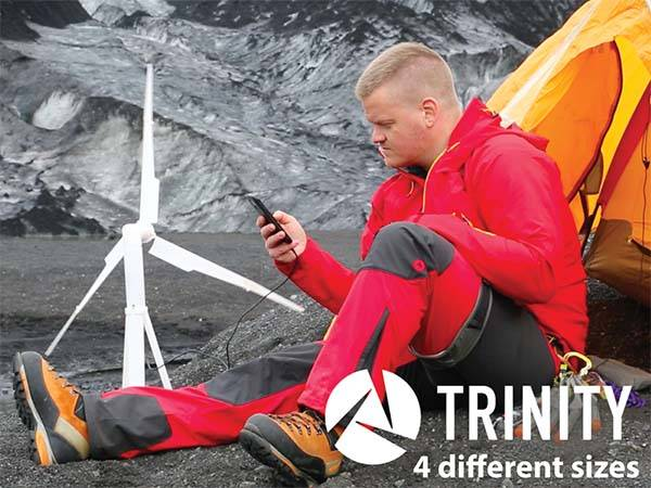 Trinity Portable Wind Turbine Power Station