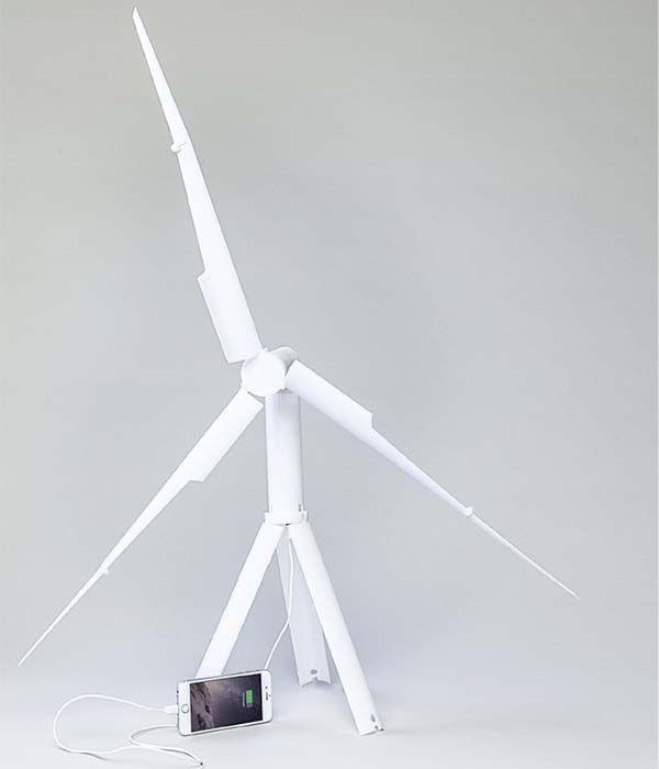 Trinity Portable Wind Turbine Power Station
