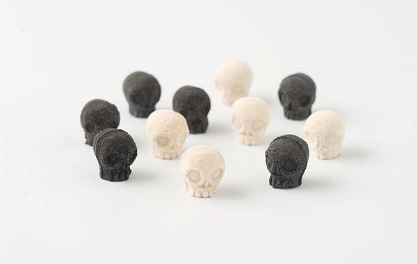 Wasanbon Skull Shaped Sugar Cubes for Your Halloween Party