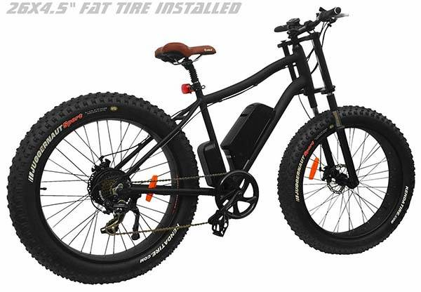 Xterrain500 All Terrain Electric Bike Can Ride Over Beach Sand