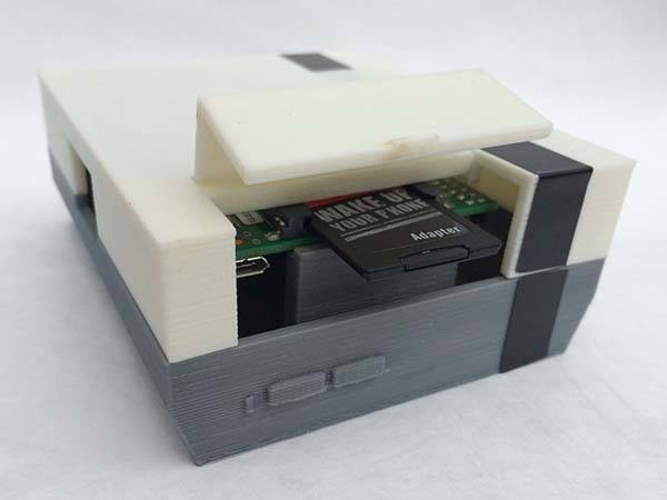 3D Printed NES Raspberry Pi Case