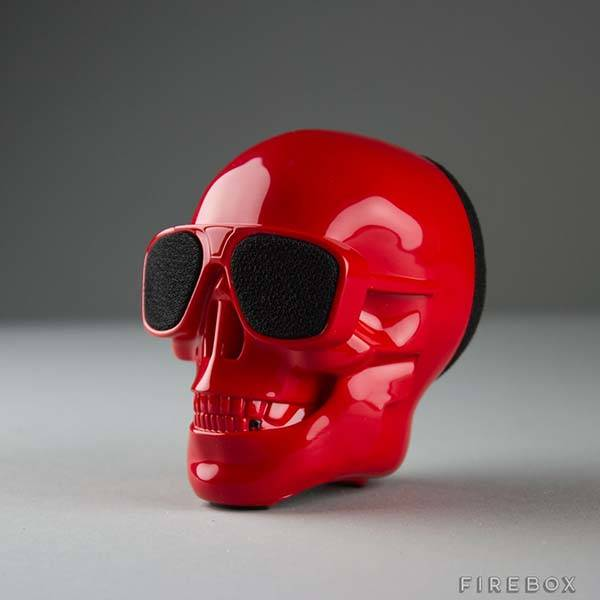 AeroSkull Skull Shaped Portable Bluetooth Speaker