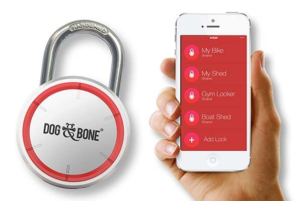 Dog & Bone LockSmart Smart Padlock