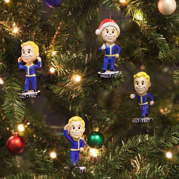 Fallout 4 Vault Boy Christmas Ornaments