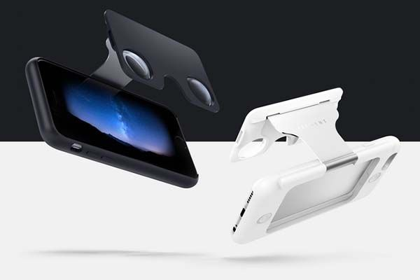 Figment VR iPhone 6s/ 6s Plus Case with Integrated VR Glasses