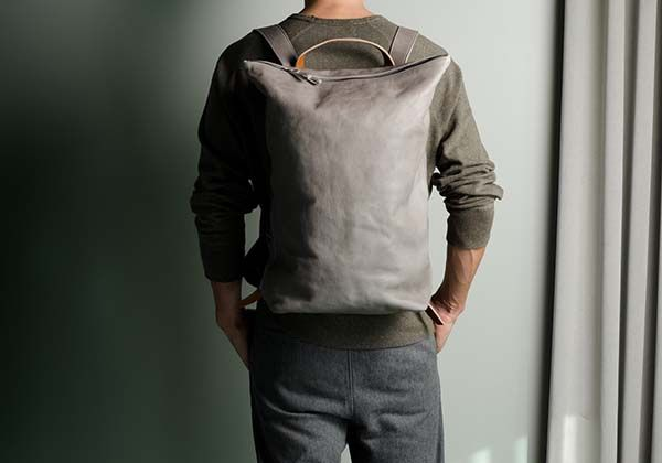 Hard Graft Outsider Leather Backpack