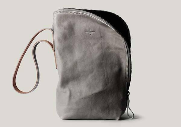 Hard Graft Unpack Leather Handbag