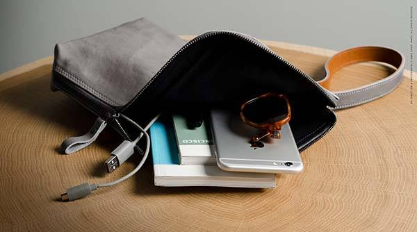 Hard Graft Unpack Leather Handbag