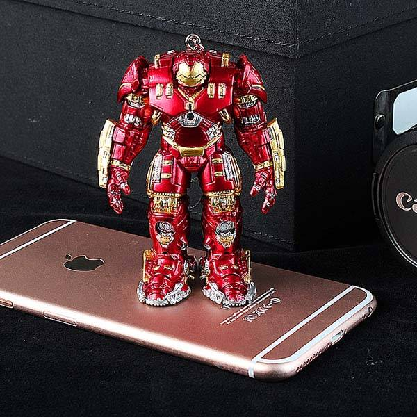Hulkbuster Figurine Earphone Jack Accessory