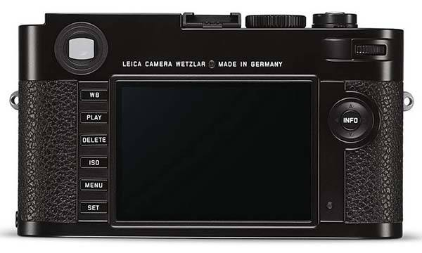 Leica M Typ 262 Digital Rangefinder Camera