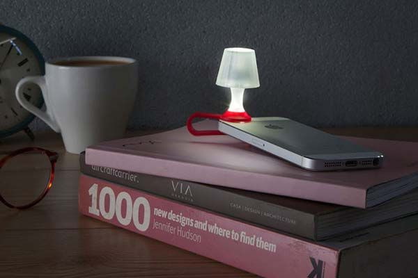 Luma Phone Lens Adapter Turns Your iPhone into Night Light
