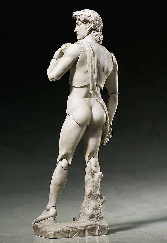 Michelangelo's David Sculpture Action Figure