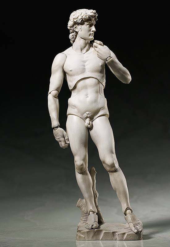 Michelangelo's David Sculpture Action Figure