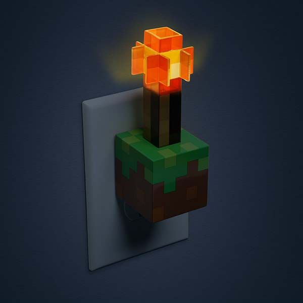 Minecraft Redstone Torch USB Wall Charger