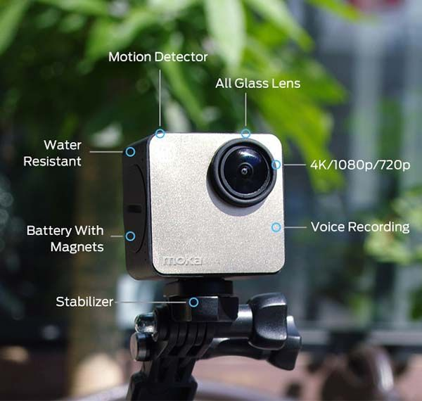 Mokacam Ultra Compact 4K Camera
