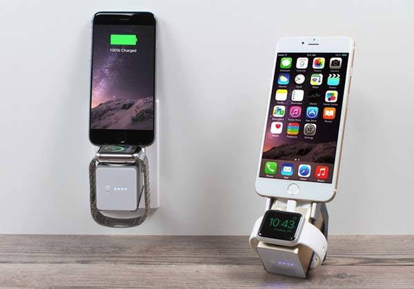 MOVE! Portable Wireless Charging Station for Apple Watch and iPhone
