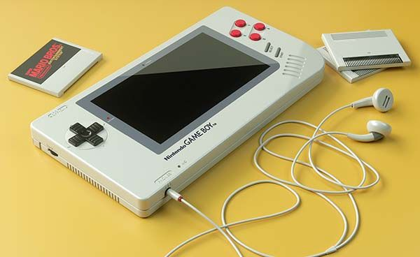 Concept Nintendo Game Boy 1up Handhold Game Console