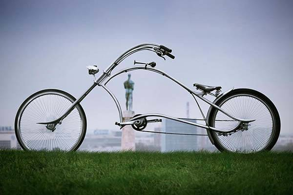 One Bikes Archont Harley Davidson Inspired Bicycle