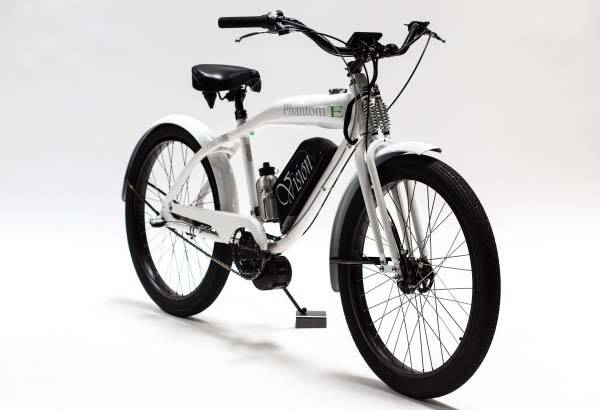 Phantom E Electric Bike Shows off Vintage Design, 500W Motor and More