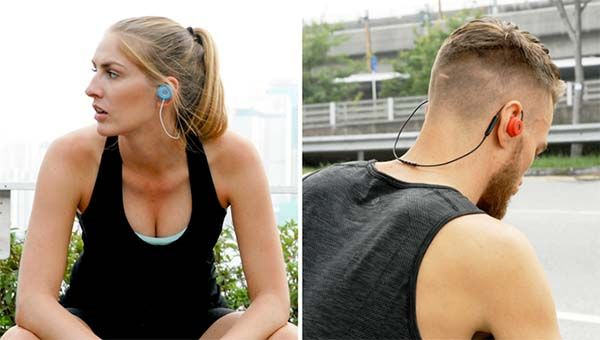 Revols Bluetooth Earbuds with Gel-Filled Molding Tips