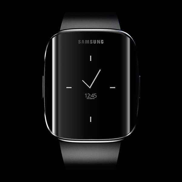 Samsung Galaxy Gear Edge Smartwatch with Curved Display