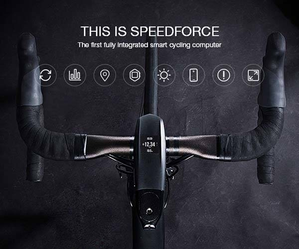 SpeedForce Smart Cycling Computer