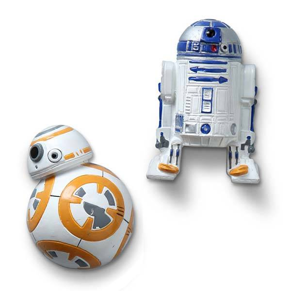 Star Wars Droids Fridge Magnets - R2-D2 and BB-8
