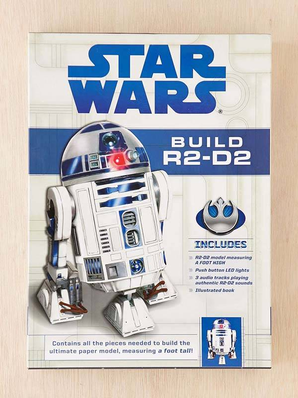 Star Wars R2-D2 Papercraft Model Kit