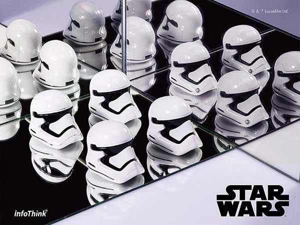 Star Wars VII Stormtrooper Helmet Shaped USB Flash Drive