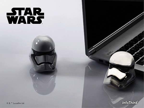 Star Wars VII Stormtrooper Helmet Shaped USB Flash Drive