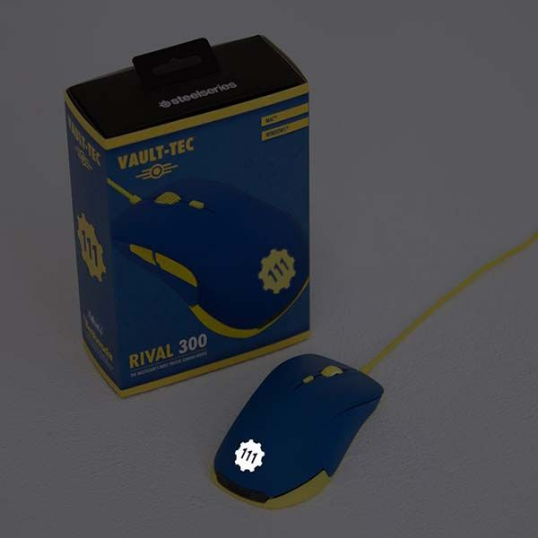 SteelSeries Rival Fallout 4 Vault 111 Gaming Mouse