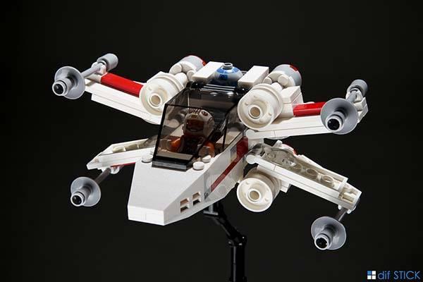 Chibi LEGO Star Wars Starfighters - X-wing starfighter